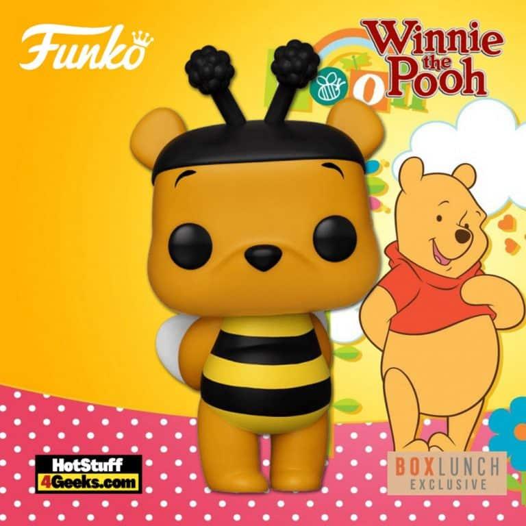 Funko Pop! Disney: Winnie the Pooh as Bee Funko Pop! Vinyl Figure - Box Lunch Exclusive