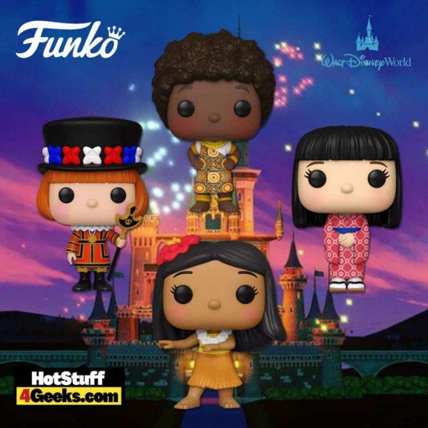 Funko Pop! Disney World: It's a Small World - United States, Kenya, England, and Japan Funko Pop! Vinyl Figures