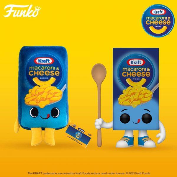 Funko Pop! Foodies Kraft Mac & Cheese Box Funko Pop! Vinyl Figure