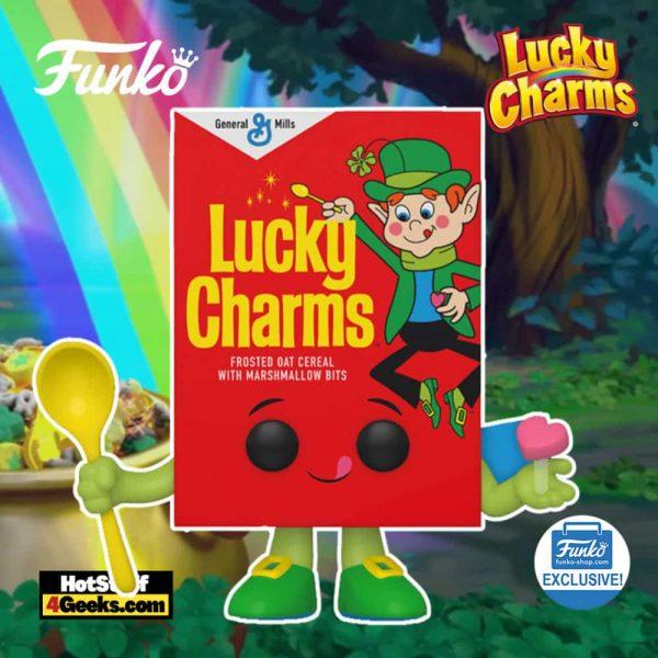Funko Pop! Foodies: Lucky Charms Cereal Funko Pop! Vinyl Figure - Funko Shop Exclusive