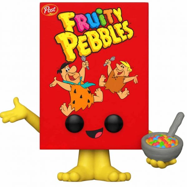 Funko Pop! Foodies Post-Fruity Pebbles Cereal Box Funko Pop! Vinyl Figure