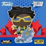 Funko Pop! Heroes: Justice League - Static Shock Funko Pop! Vinyl Figure - Hot Topic Exclusive