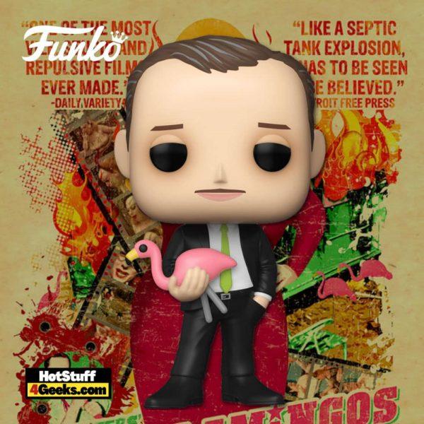 Funko Pop! Icons: John Waters Funko with Pink Flamingo Funko Pop! Vinyl Figure