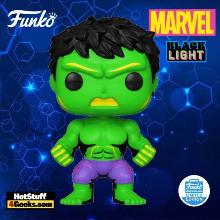 Funko Pop! Marvel Avengers: Hulk Black Light Funko Pop! Vinyl Figure - Funko Shop Exclusive