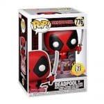Funko Pop! Marvel: Deadpool30th Anniversary - Deadpool in Birthday Cake (Metallic)Funko Pop! Vinyl Figure- 7-11 Exclusive