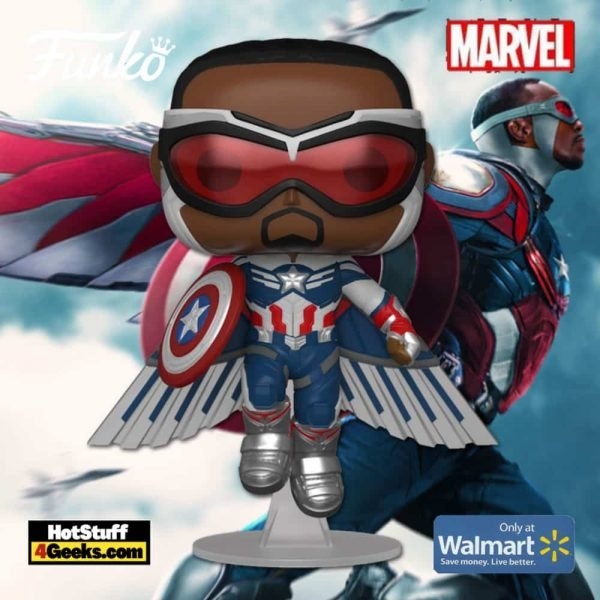 Funko Pop! Marvel: Year of The Shield: Captain America (Sam Wilson) With Shield Funko Pop! Vinyl Figure - Amazon Exclusive