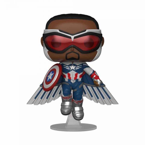 Funko Pop! Marvel: The Falcon and The Winter Soldier: Captain America With Wings (Sam Wilson) Funko Pop! Vinyl Figure - Walmart Exclusive