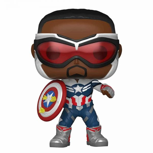 Funko Pop! Marvel: Year of The Shield: Captain America (Sam Wilson) Funko Pop! Vinyl Figure - Amazon Exclusive