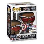 Funko Pop! Marvel: Year of The Shield: Captain America (Sam Wilson) Funko Pop! Vinyl Figure - Amazon Exclusive