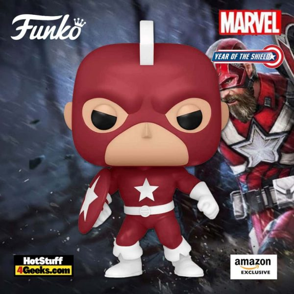 Funko Pop! Marvel: Year of The Shield: Red Guardian Funko Pop! Vinyl Figure