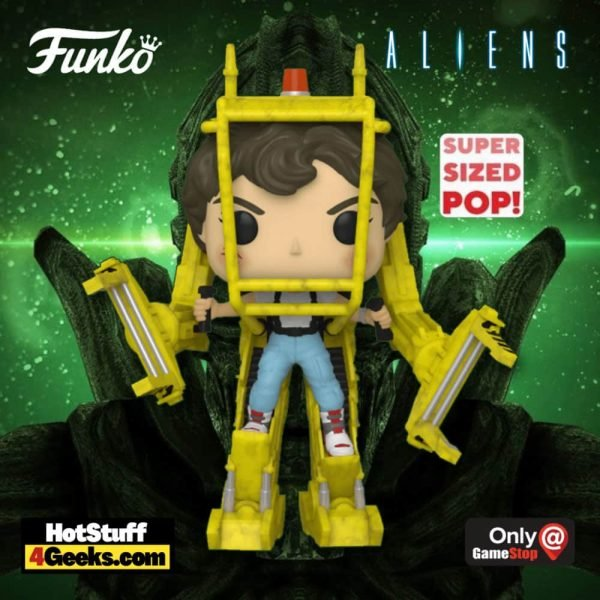 Funko Pop! Movies: Aliens - Ellen Ripley With Power Loader Super Sized Funko Pop! Viny Figure - GameStop Exclusive