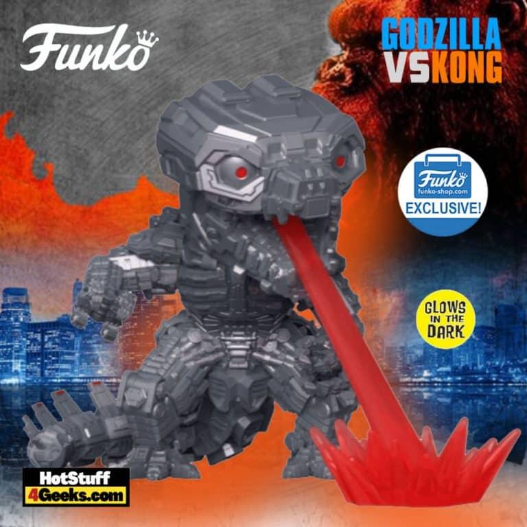 Funko Pop! Movies: Godzilla Vs. Kong - Mechagodzilla Glow-In-The-Dark (GITD) Funko Pop! Vinyl Figure - Funko Shop Exclusive