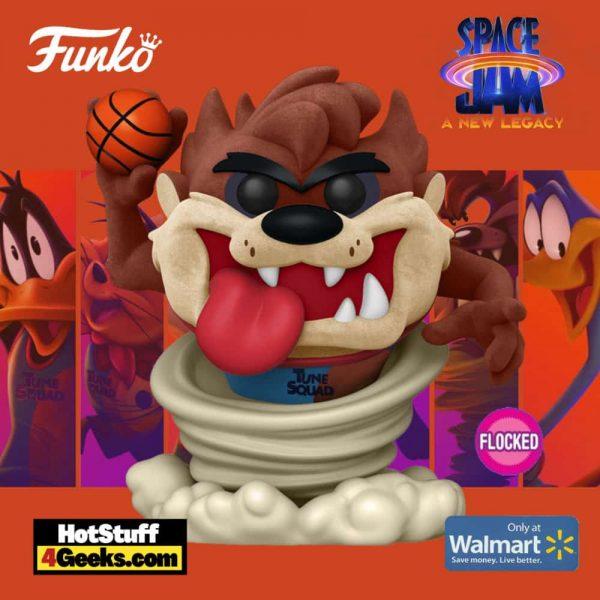 Funko Pop! Movies: Space Jam: A New Legacy - Taz Flocked Funko Pop! Vinyl Figure - Walmart Exclusive