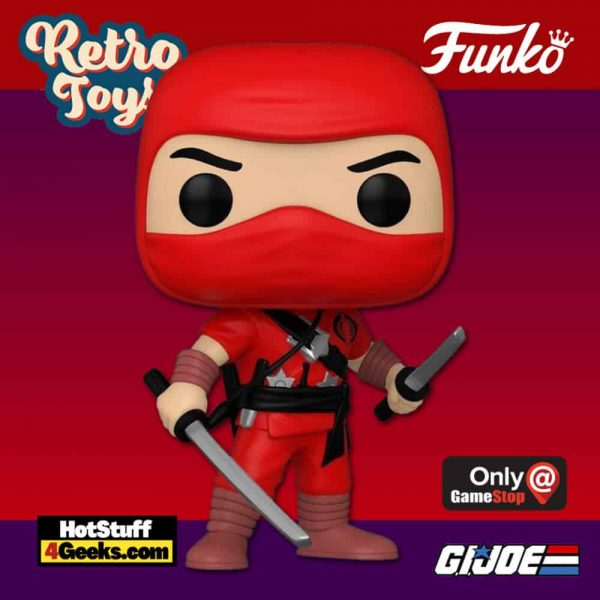 Funko Pop! Retro Toys: G.I. Joe - Cobra Red Ninja Funko Pop! Vinyl Figure - GameStop Exclusive