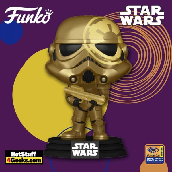 Funko Pop! Star Wars: Stormtrooper Funko Pop! Vinyl Figure - Wondercon and Wondrous Convention 2021 and Target Shared Exclusive