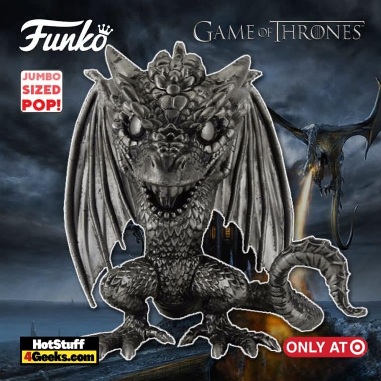 Funko Pop! Television: Game of Thrones 10th Anniversary: Drogon Iron Deco 10-Inch Super Sized Funko Pop! Vinyl Figure - Target Exclusive