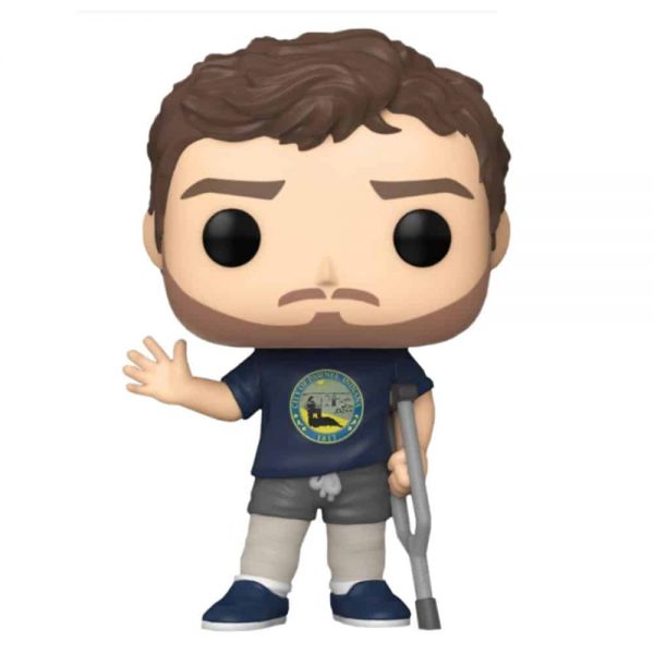 Funko Pop! Television Parks and Recreation - Andy in Leg Casts Funko Pop! Vinyl Figure - Go! Calendars Exclusive
