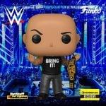 Funko Pop! WWE: The Rock with Championship Belt Funko Pop! Vinyl Figure - Entertainment Earth Exclusive