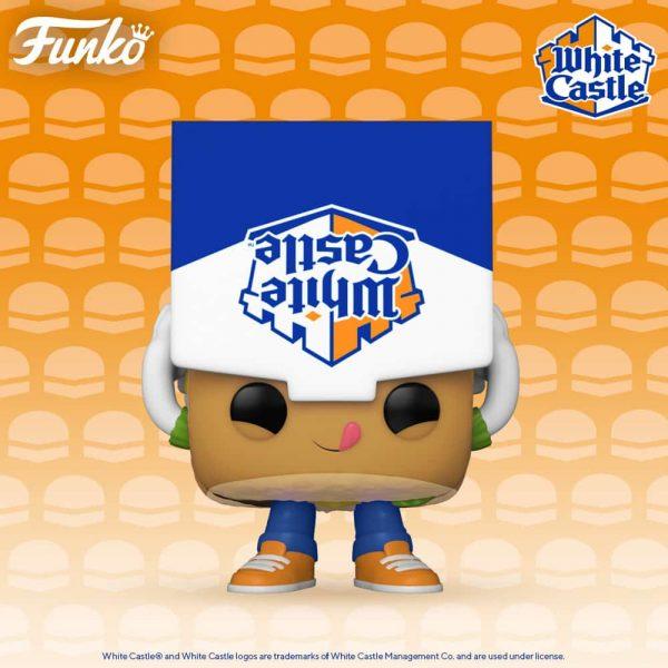 Funko Pop! Foodies: White Castle Slider Funko Pop! Vinyl Figure