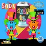 Funko Vinyl Soda: Alice in Wonderland – Mad Hatter Black Light Vinyl Soda Figure With Chase - Funko Shop Exclusive