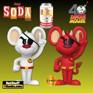 Funko Vinyl Soda: Danger Mouse Vinyl Soda Figure With Chase