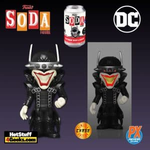 Funko Vinyl Soda: Dark Nights Metal - Batman Who Laughs Vinyl Soda Figure With Glow-In-The-Dark Chase - PX Exclusive