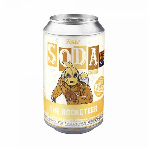 Funko Vinyl Soda: Disney The Rocketeer Vinyl Soda Figure - Wondercon, Wondrous Convention 2021, and Funko Shop Shared Exclusive