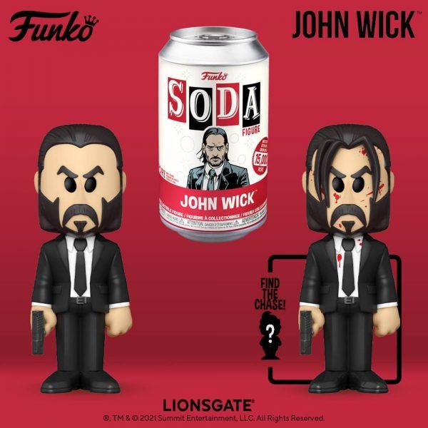 Funko Vinyl Soda: John Wick Vinyl Soda Figure With Chase