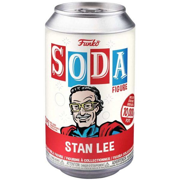 The Funko Vinyl Soda: Marvel – Stan Lee Superhero Vinyl Soda Figure With Gold Chase