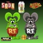 Funko Vinyl Soda Rat Fink Vinyl Soda Figure With Black and White Chase
