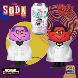 Funko Vinyl Soda: Wacky Races - Lil' Gruesome Vinyl Soda Figure - Wondercon and Wondrous Convention 2021, and Funko Shop Shared Exclusive