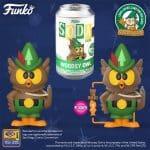 Funko Vinyl Soda: Woodsy Owl Vinyl Soda Figure - Wondercon and Wondrous Convention 2021, and Funko Shop Shared Exclusive