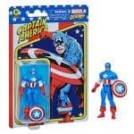 Hasbro Marvel Legends Retro 375 Collection - Captain America Action Figure