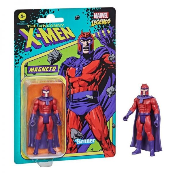 Hasbro Marvel Legends Retro 375 Collection - Magneto Action Figure