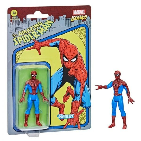 Hasbro Marvel Legends Retro 375 Collection - Spider-Man Action Figure