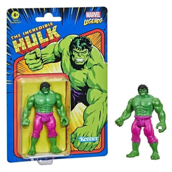 Hasbro Marvel Legends Retro 375 Collection - The Incredible Hulk Action Figure