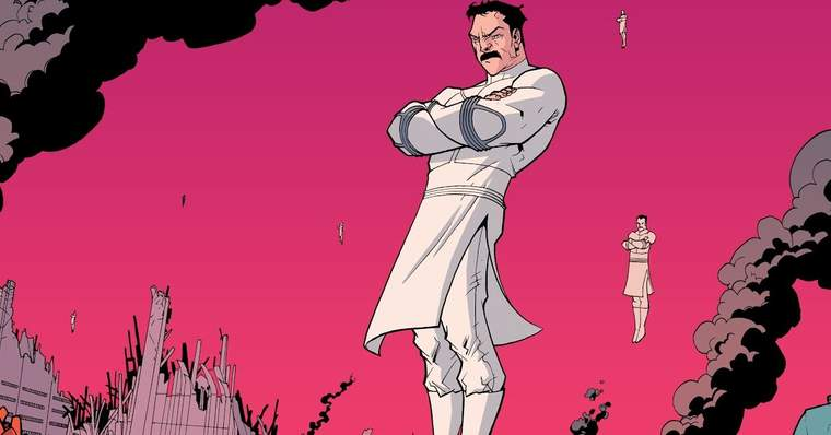 Invincible: Who is Omni-Man? His True Motivations Explained - Who are the Viltrumites?