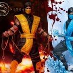 Iron Studios Mortal Kombat - Scorpion and Sub-Zero Art Scale 110 Statues