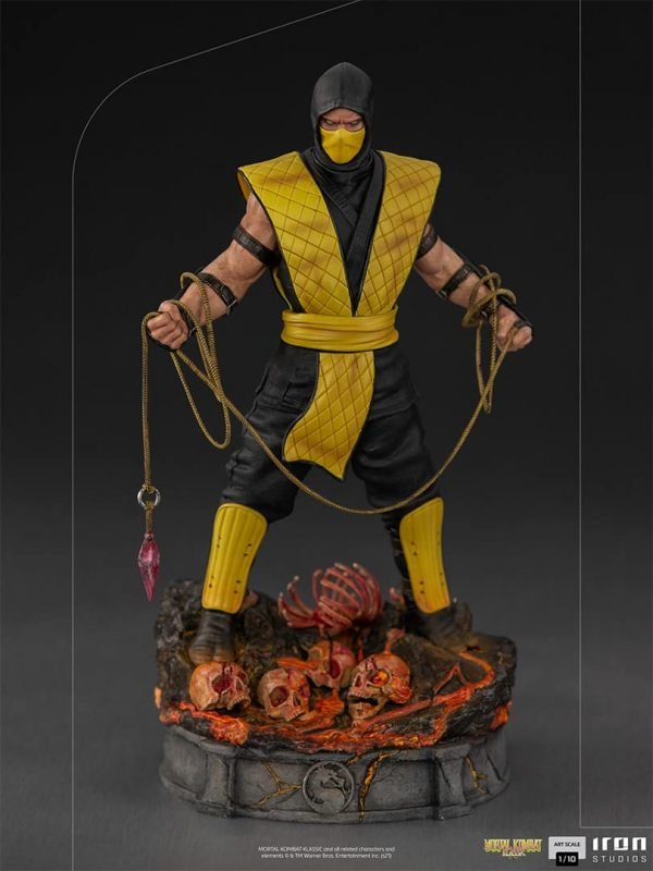 Iron Studios Scorpion Art Scale 110 – Mortal Kombat