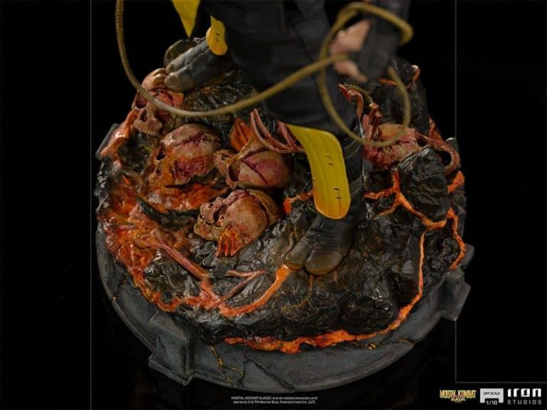 Iron Studios Scorpion Art Scale 110 – Mortal Kombat