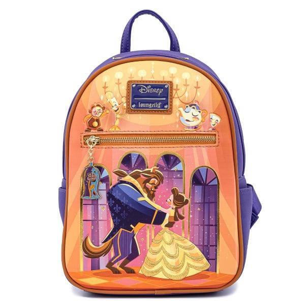 Loungefly Disney Beauty and the Beast Ballroom Scene Mini Backpack