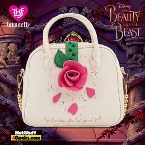 Loungefly Disney Beauty and the Beast Rose Crossbody