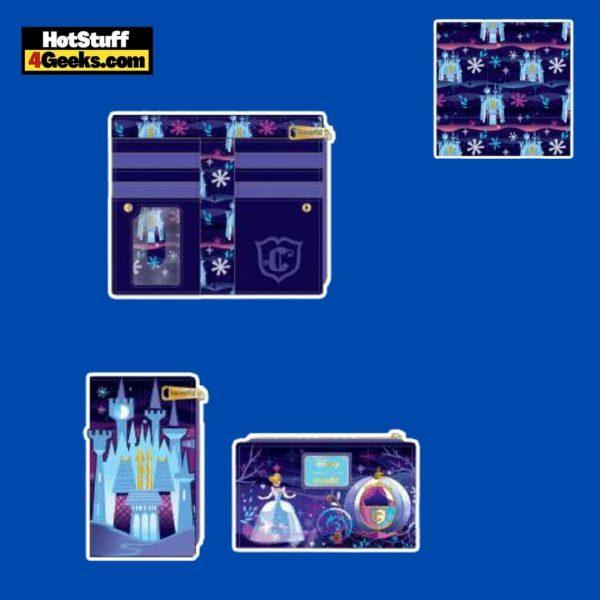 Loungefly Disney Cinderella Castle Series Flap Wallet