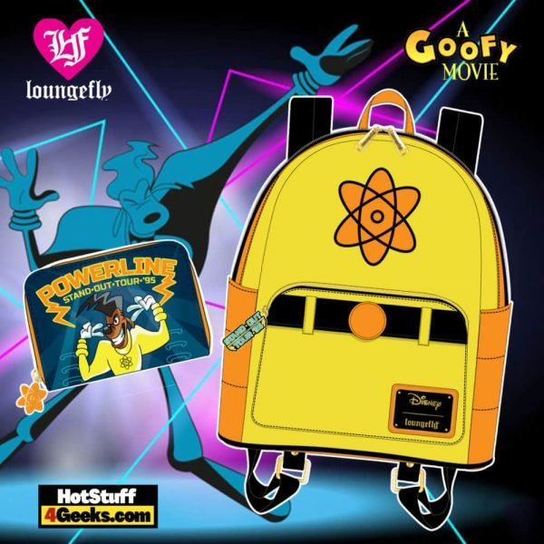 Loungefly Disney Goofy Movie Powerline Collection - April 2021 pre-orders coming on May 2021