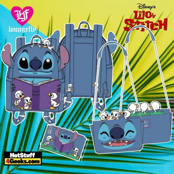 Loungefly Disney Lilo and Stitch Story Time Duckies Collection