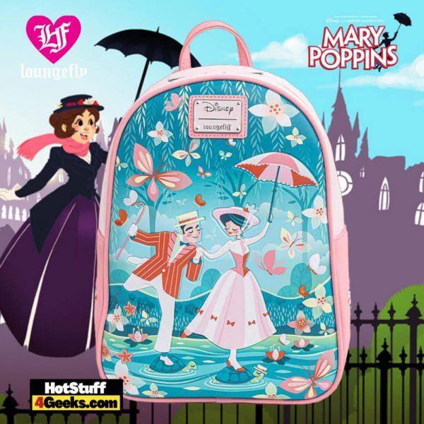 Loungefly Disney Mary Poppins Jolly Holiday Mini Backpack
