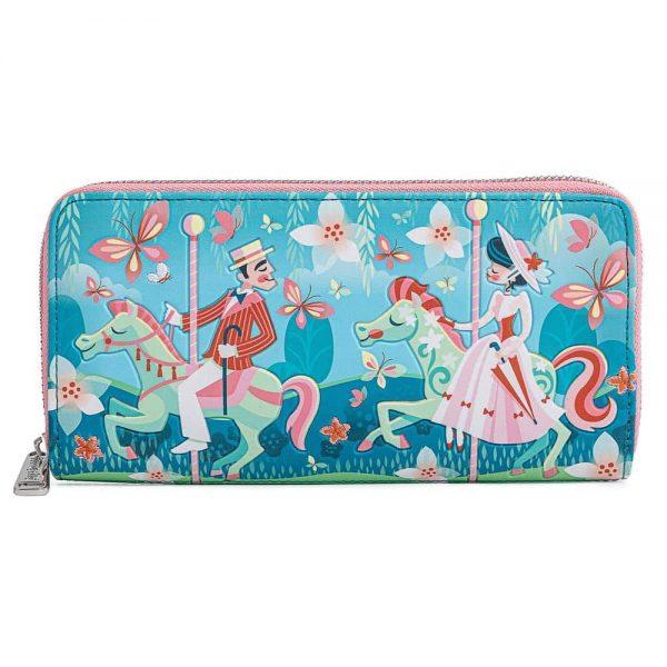 Loungefly Disney Mary Poppins Jolly Holiday Zip Around Wallet