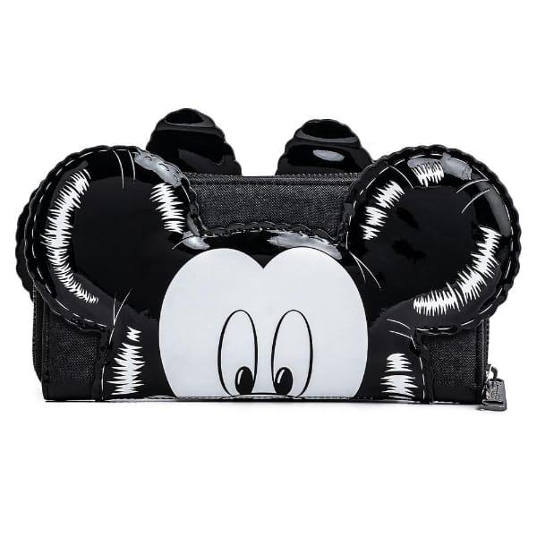 Loungefly Disney Mickey Minnie Balloons Cosplay Zip Around Wallet