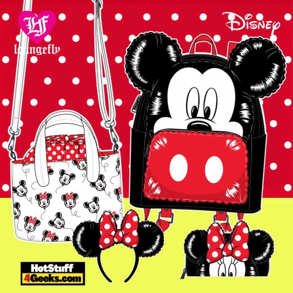 Loungefly Disney Mickey Minnie Mouse Balloons Collection - April 2021 pre-orders coming on May 2021