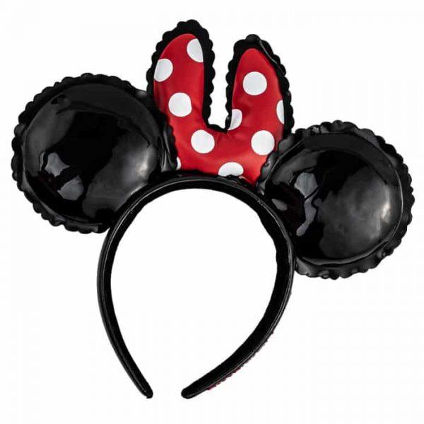Loungefly Disney Minnie Mouse Balloon Ears With Bow Headband